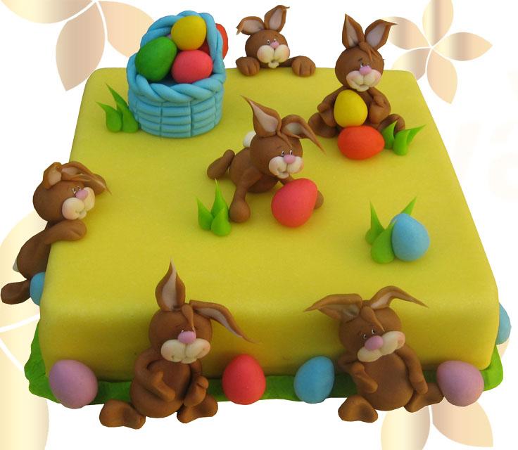 Великденси зайчета