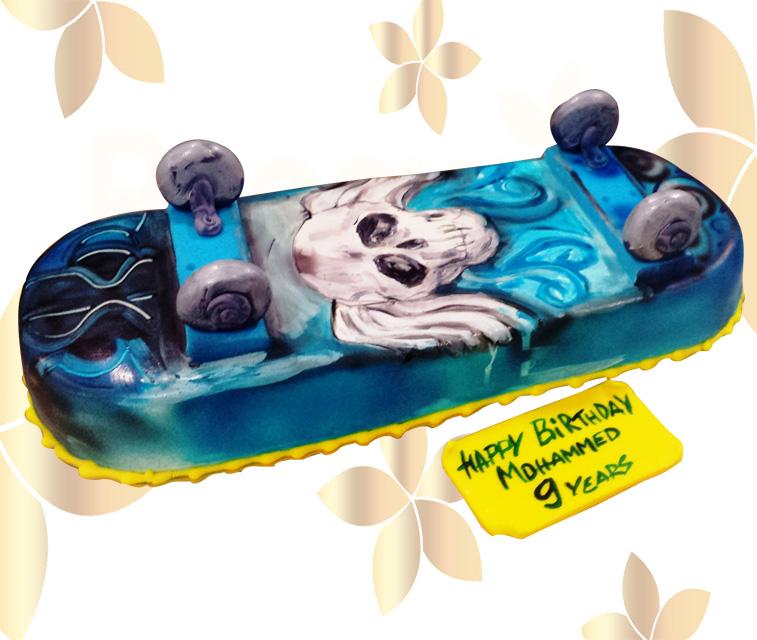Торта Скейтборд