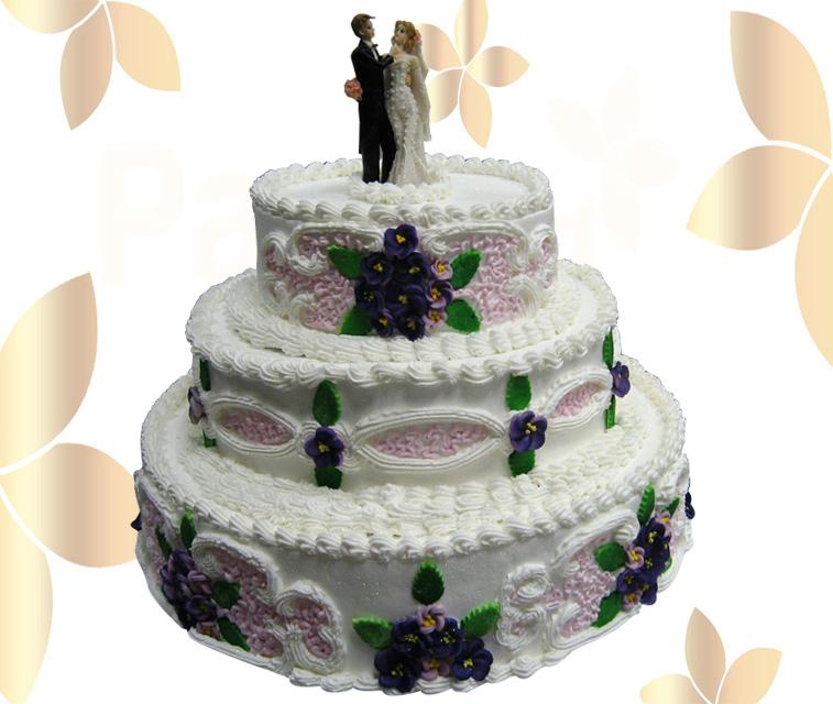 Сватбена торта 001