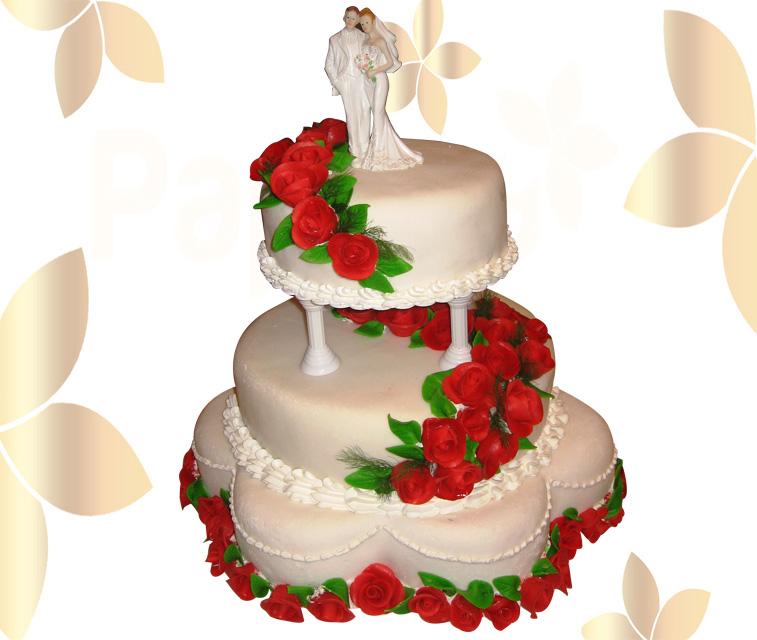 Сватбена торта 002