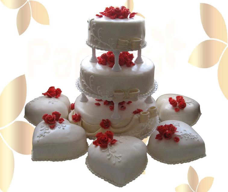 Сватбена торта 003