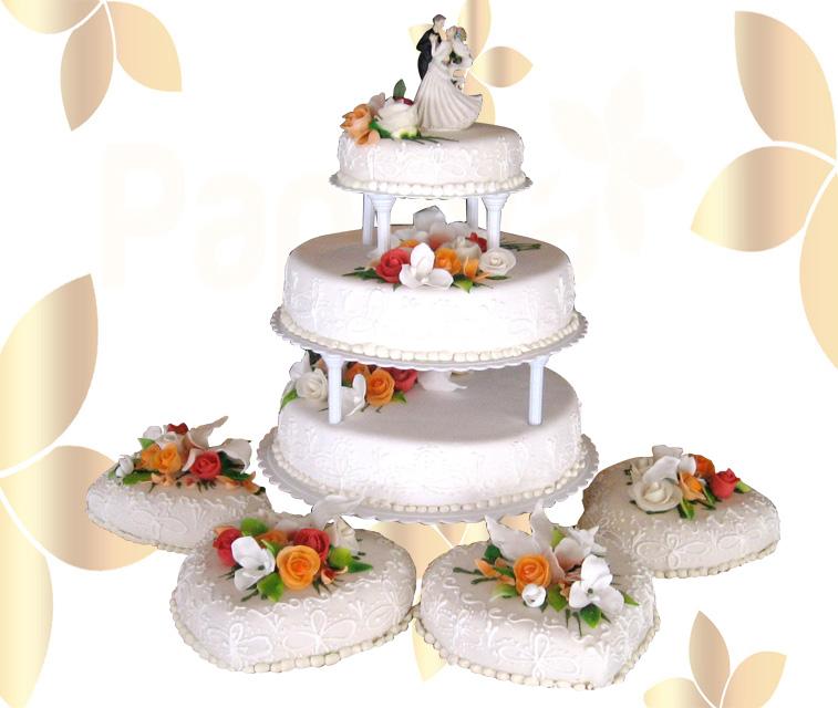 Сватбена торта 005