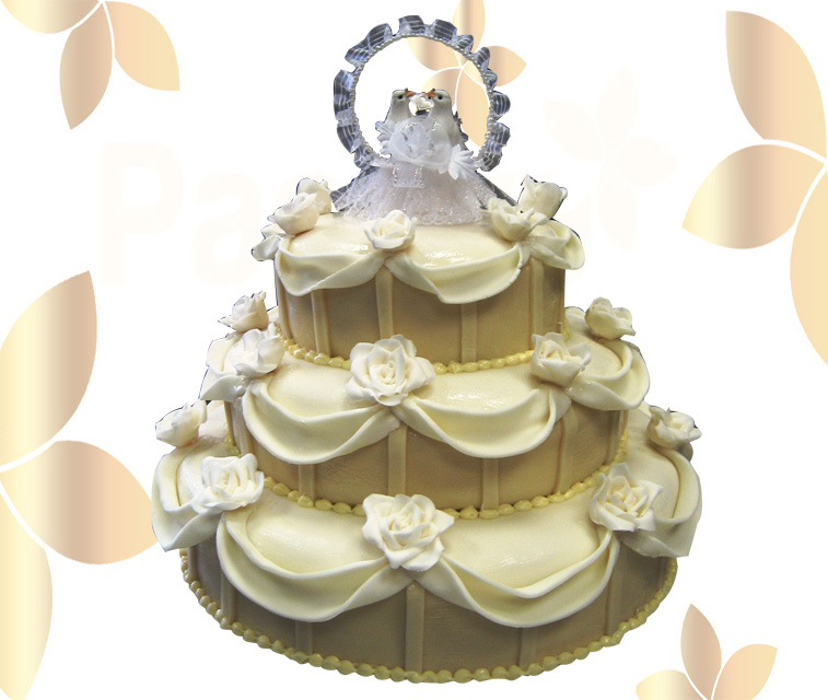 Сватбена торта 006