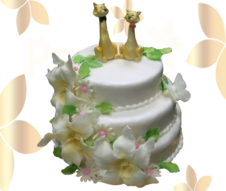 Сватбена торта 007