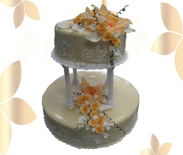 Сватбена торта 008
