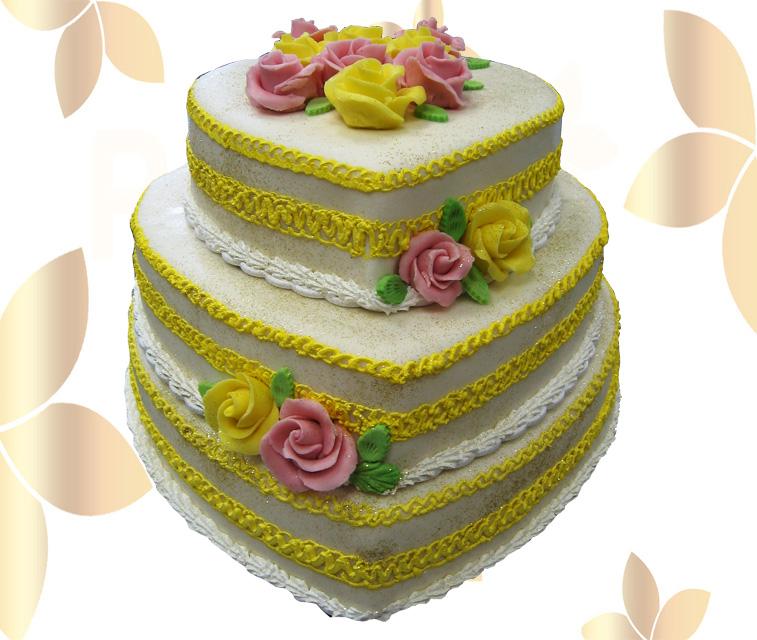 Сватбена торта 010