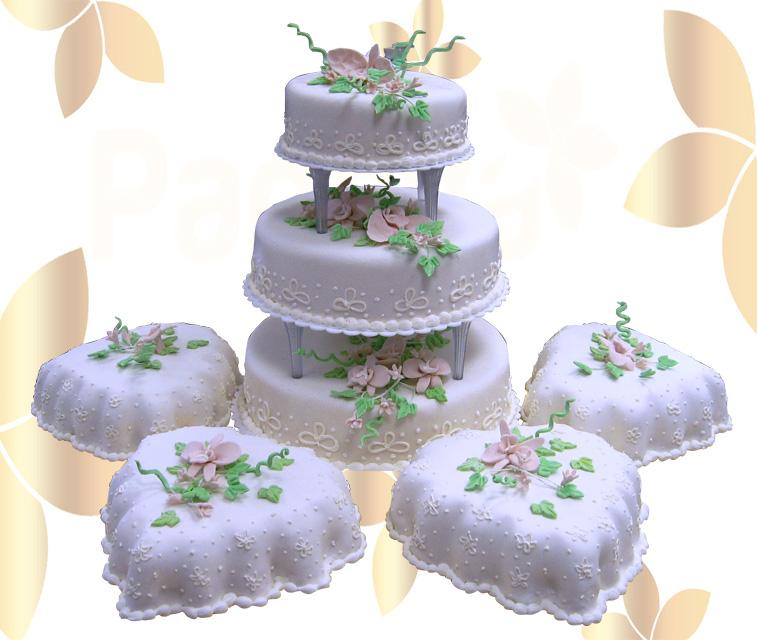 Сватбена торта 011