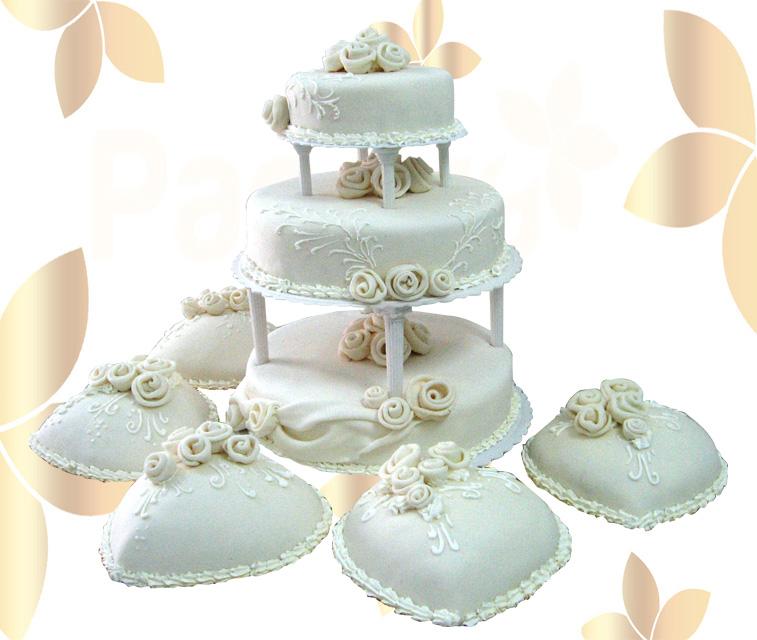 Сватбена торта 012