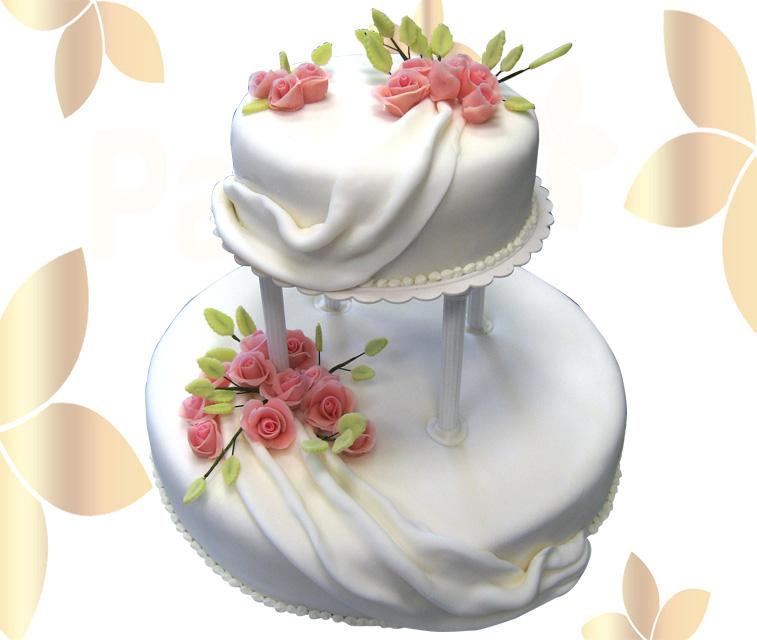 Сватбена торта 013