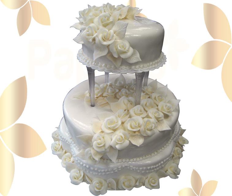 Сватбена торта 014
