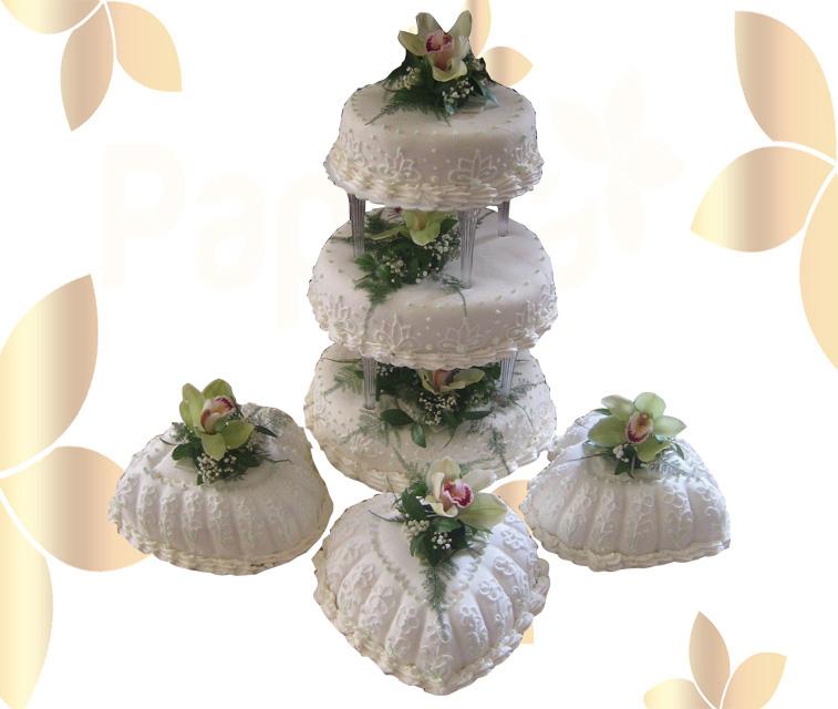 Сватбена торта 016