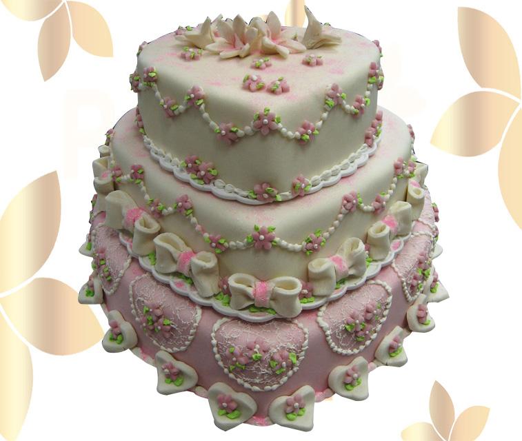 Сватбена торта 017