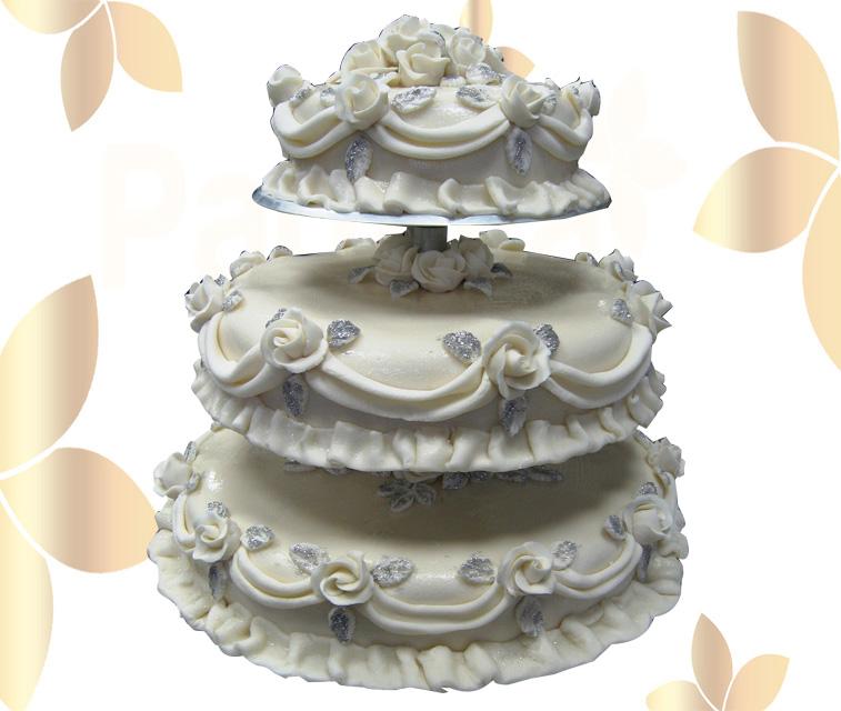 Сватбена торта 018