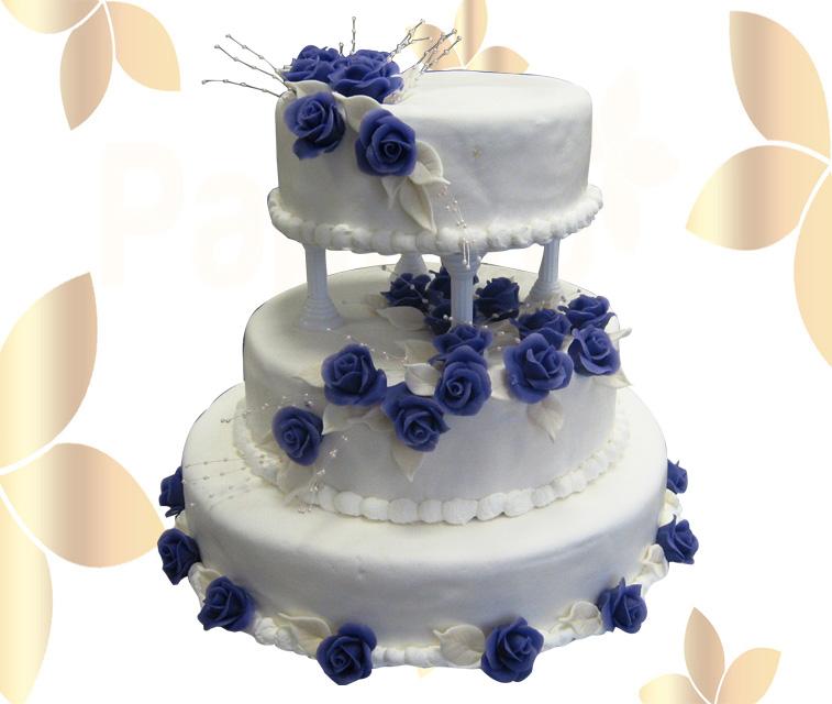 Сватбена торта 019