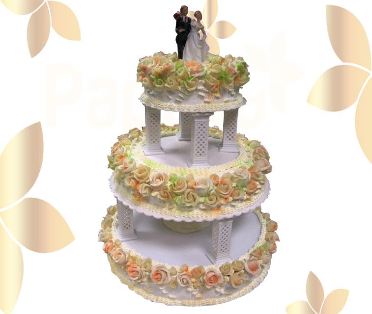 Сватбена торта 020