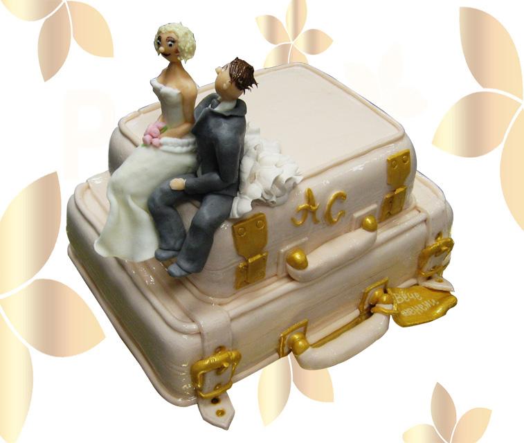 Сватбена торта 021
