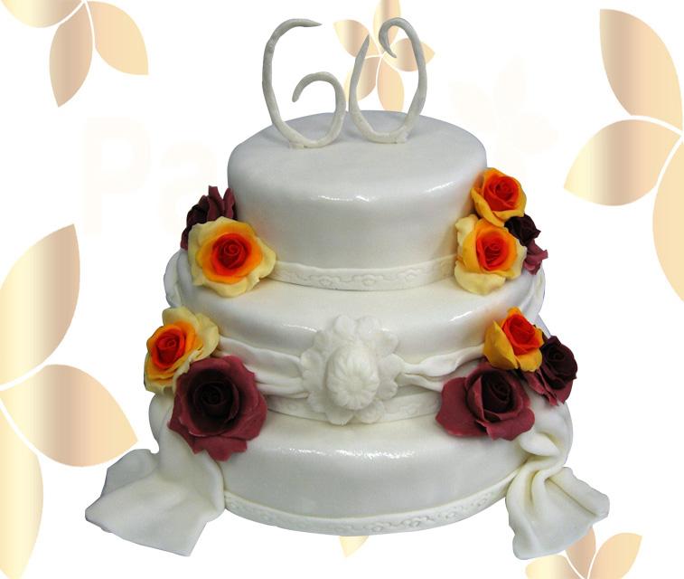 Сватбена торта 022
