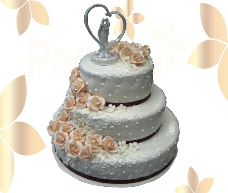 Сватбена торта 023