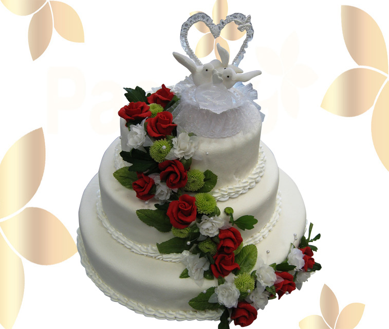 Сватбена торта 024