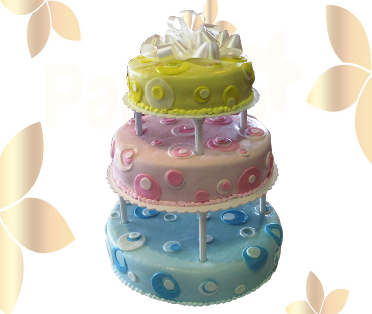Сватбена торта 026