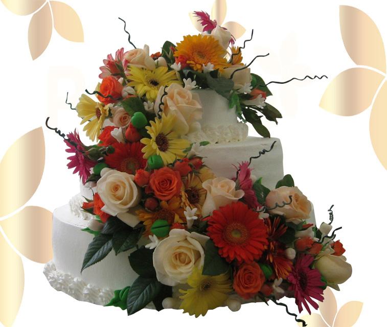 Сватбена торта 027
