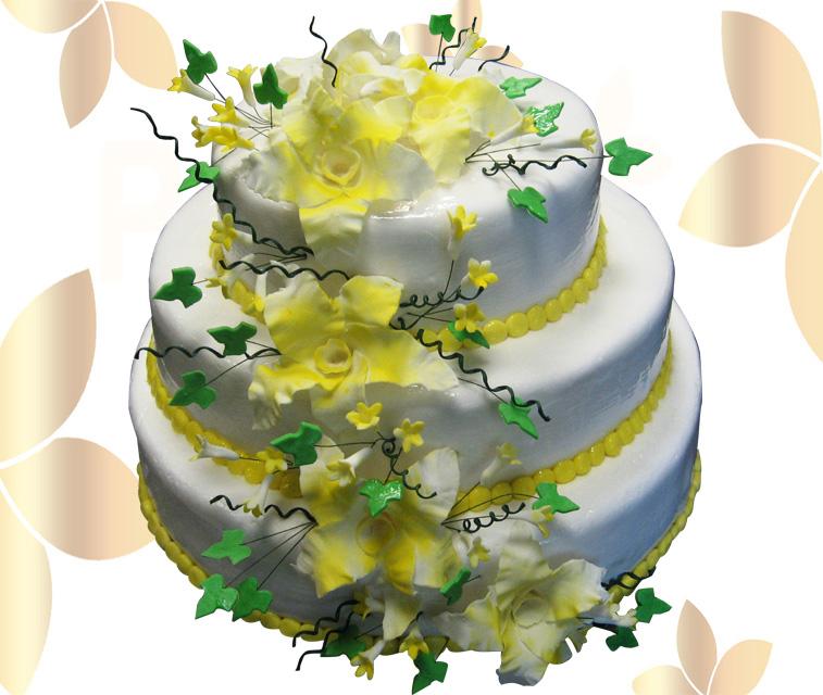 Сватбена торта 028