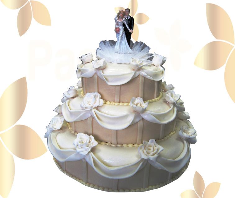 Сватбена торта 029