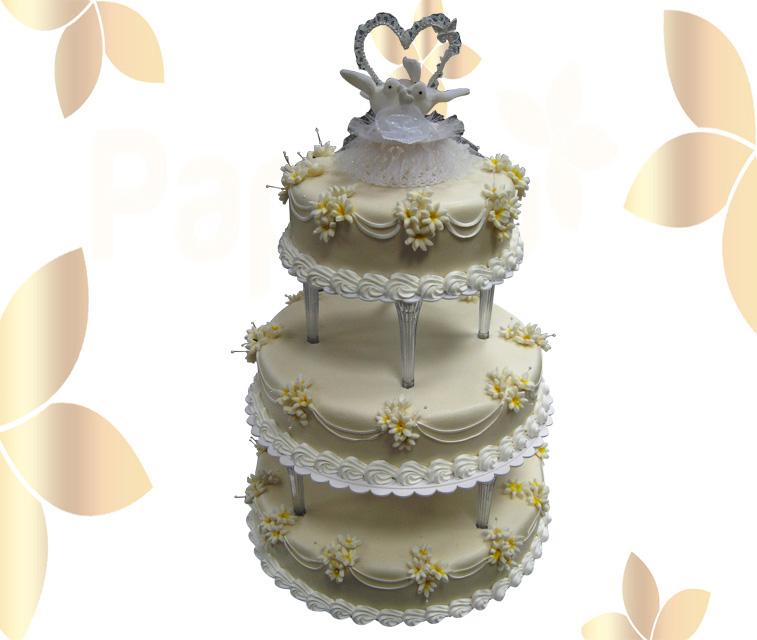 Сватбена торта 030