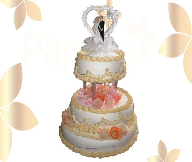 Сватбена торта 031
