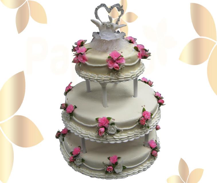 Сватбена торта 032