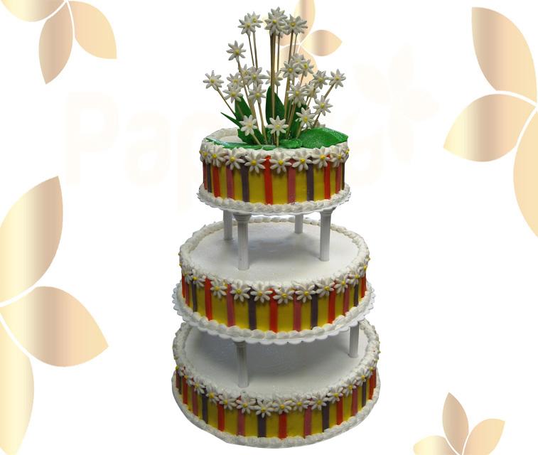 Сватбена торта 033