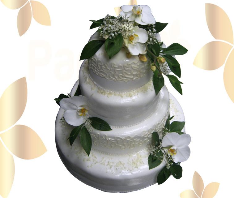 Сватбена торта 034