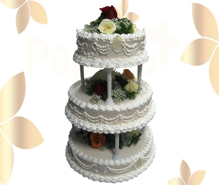 Сватбена торта 035