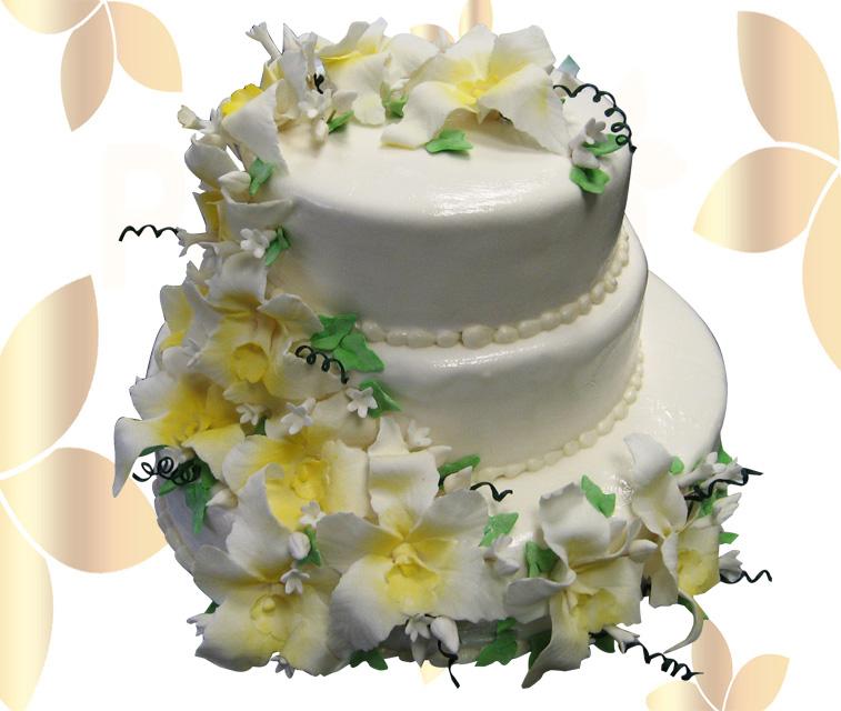Сватбена торта 036