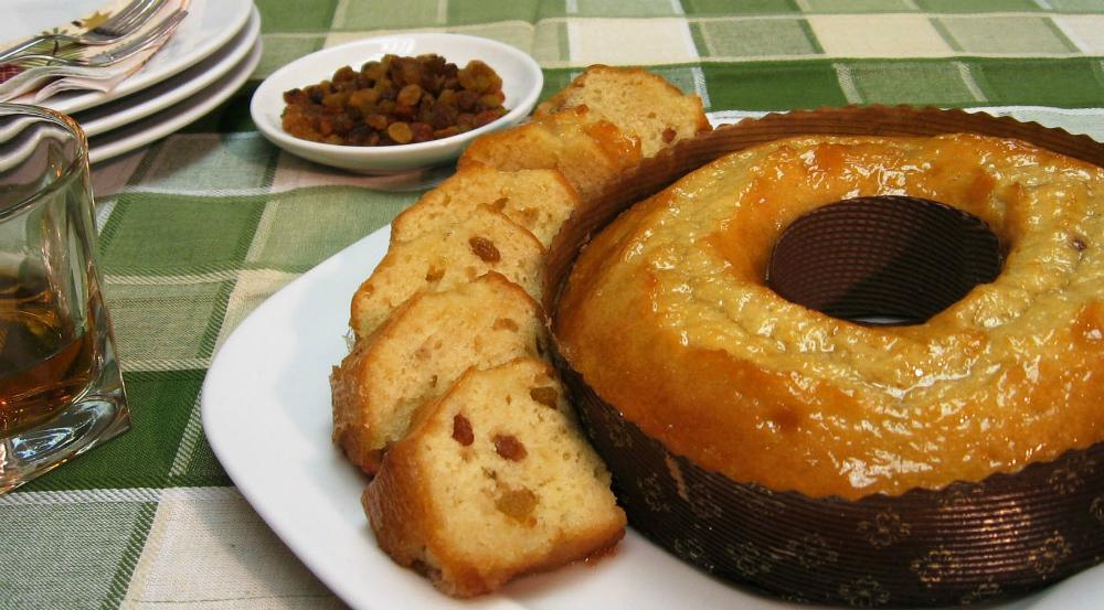 Кейк ром и стафиди