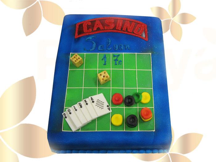 Фирмена торта Казино