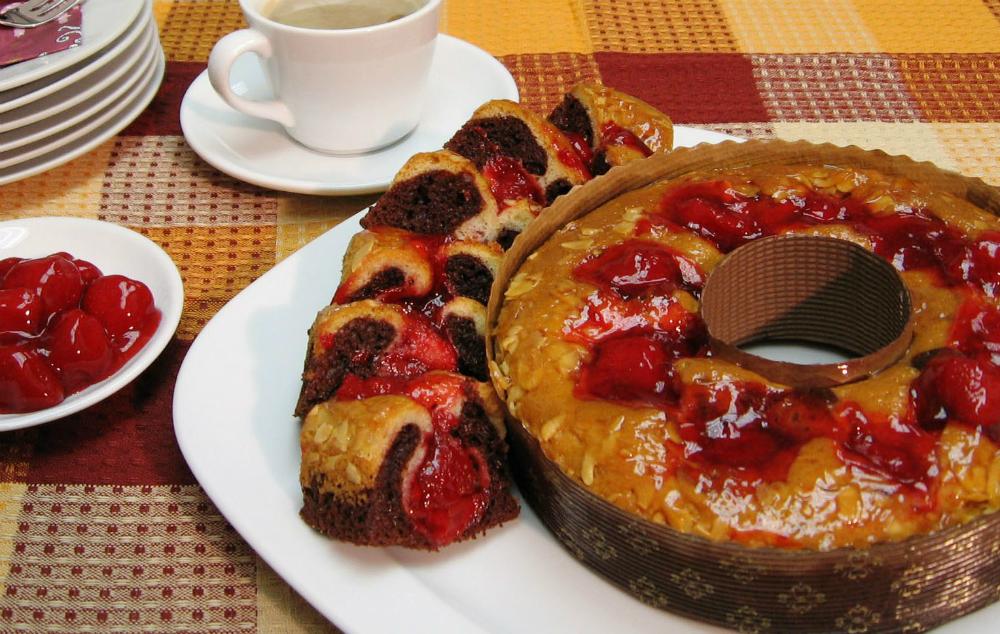 Кейк ягода
