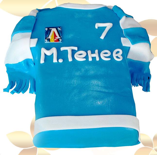 Футболна фланелка Левски