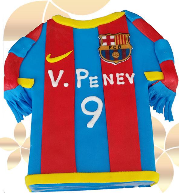 Футболна фланелка Барселона